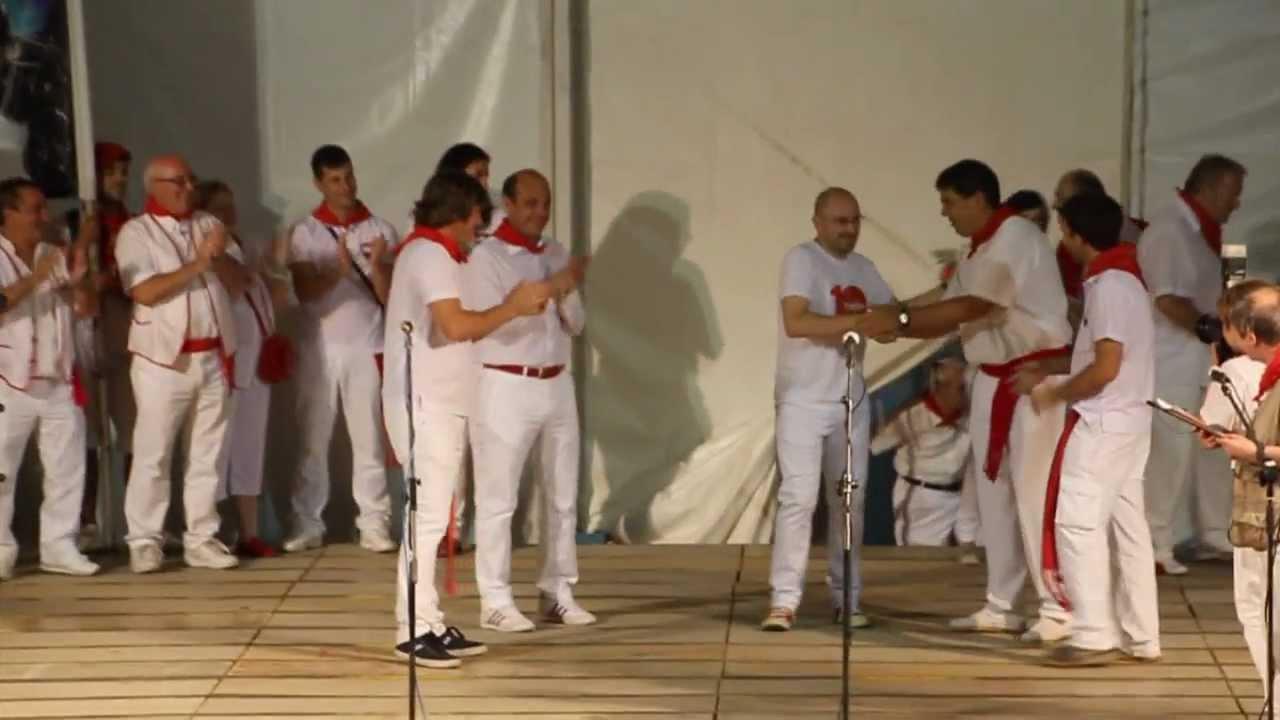 Homenaje al Tudelano Popular 2012