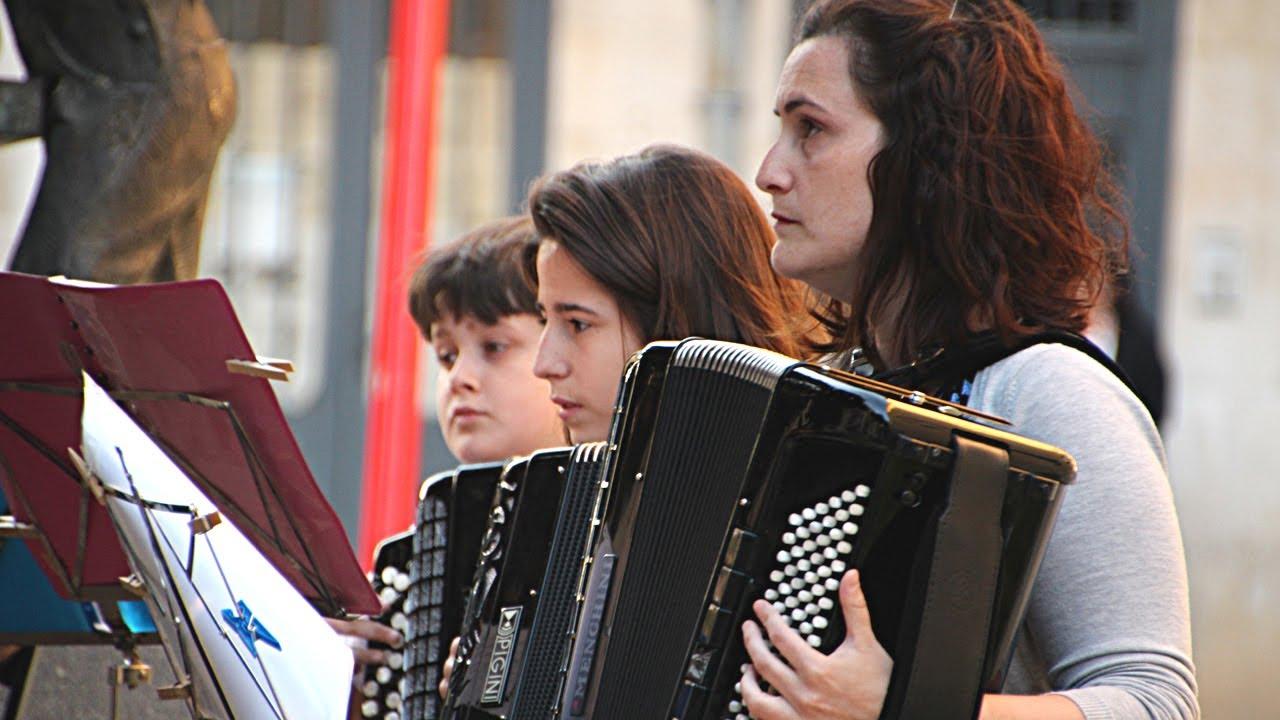 Orquesta de Acordeones. Escuela-Conservatorio Fernando Remacha