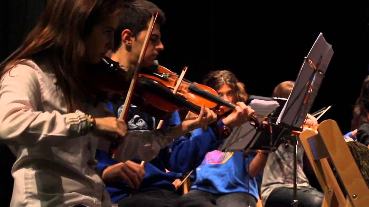"""Orquestas de Cuerda """"Fernando Remacha"""" y """"Nou Barris"""""""